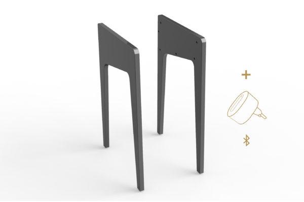 Pieds LD 120/130 + kit Bluetooth offert